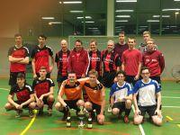 Siegerehrung Landesliga-Turnier in Weingarten, November 2017