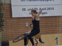 Deutsche Meisterschaft Radball U19, 28. April 2018, Nufringen