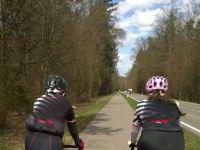Trainingsausfahrten der Rennsportler, Winter und Frühjahr 2017/2018
