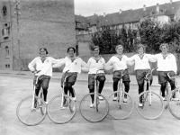 Velo-Club in Korso-Aufstellung, 1929