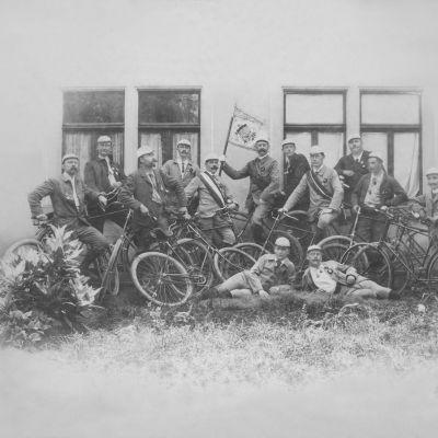 Bannerweihe des Velo-Club Konstanz, 6. August 1894