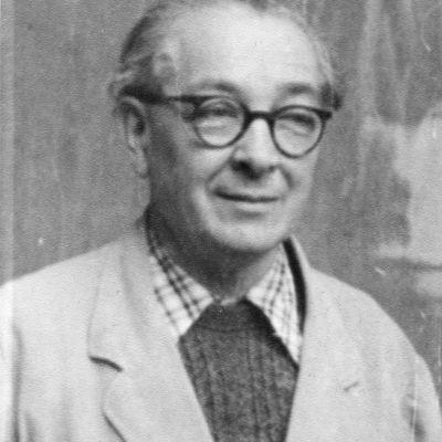 Kassier Hans Mühlbacher, 1954