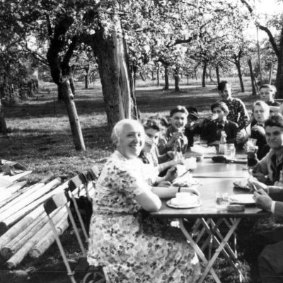 Ausflug nach Nenzingen, 1954