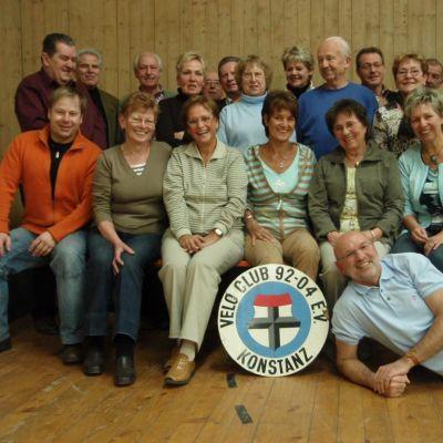 Ehemaligen-Treffen an der Radsporthalle, 2009
