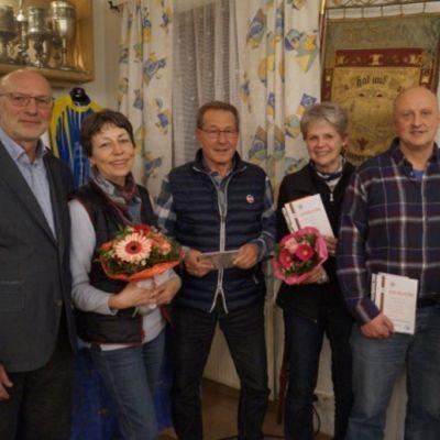 Jubilare des VMC Konstanz, 23. März 2018